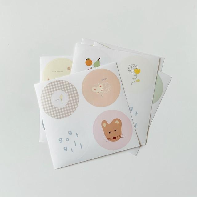 peachykeen × ggotgill sticker