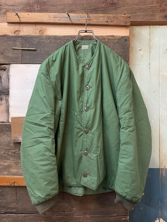 70's swedish army liner jacket used