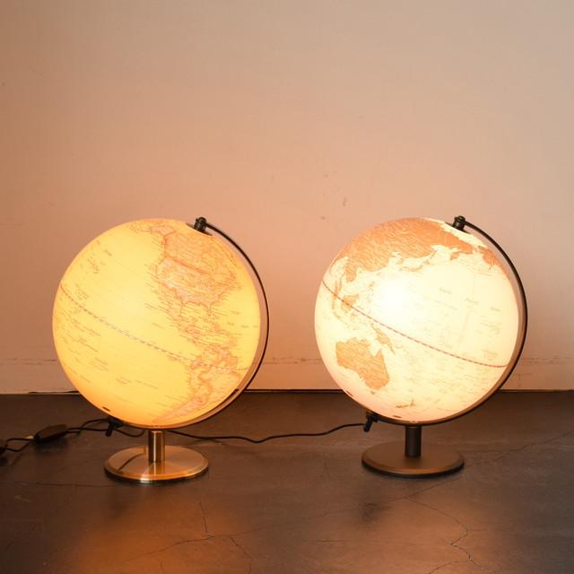 LIGHTING GLOBE -光るLEDライト地球儀-