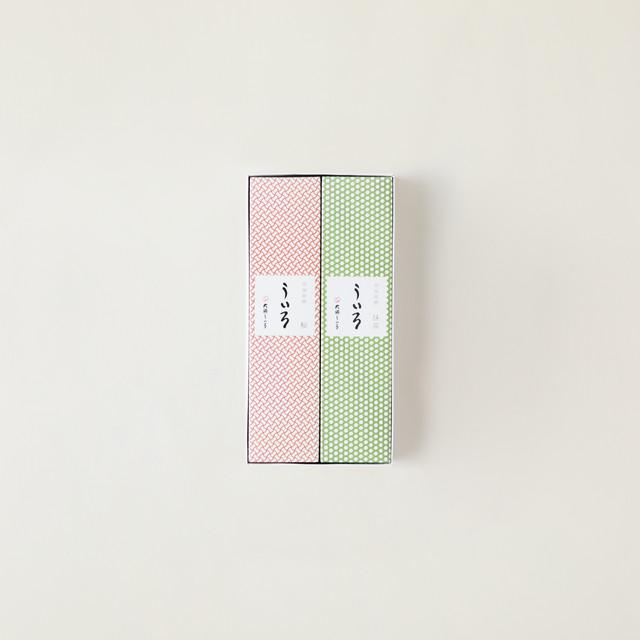 ういろ(桜・抹茶) 2本入