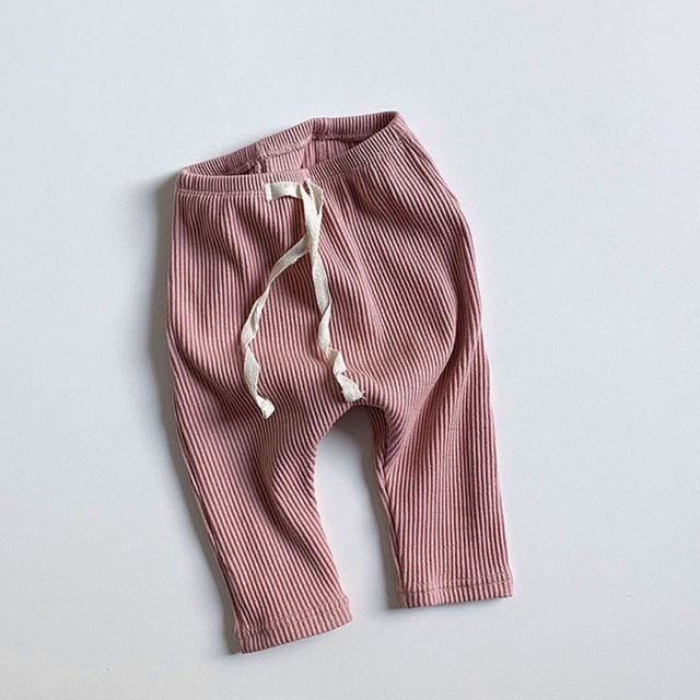 BABY rib leggings (レギンス/ピンク) Minirobe : MRBDPX0011623_145