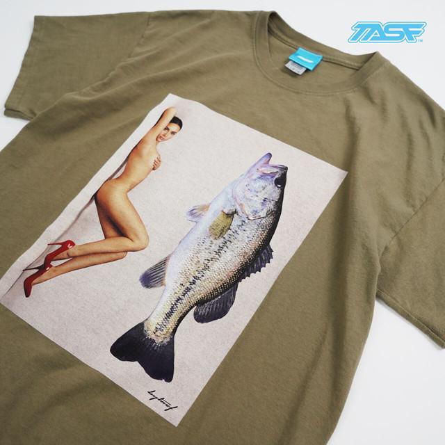 TASF  /  BASSNUDE Tee  /  OLV(Limited color)