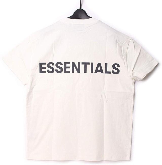 Fear Of God Essentials フィアオブゴッド エッセンシャルズ バックロゴ Tシャツ S[全国送料無料] r017047