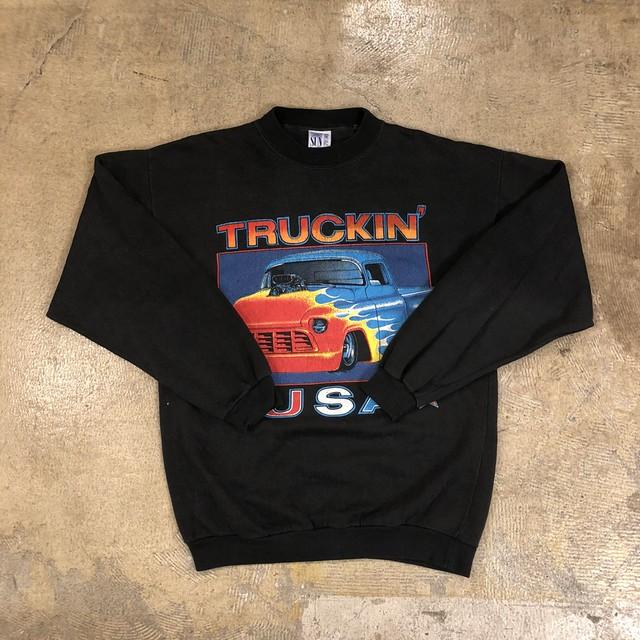 Truckin' USA Sweat Shirts ¥6,200+tax