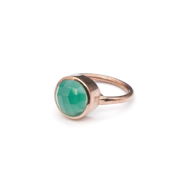 SINGLE STONE NON-ADJUSTABLE RING 021