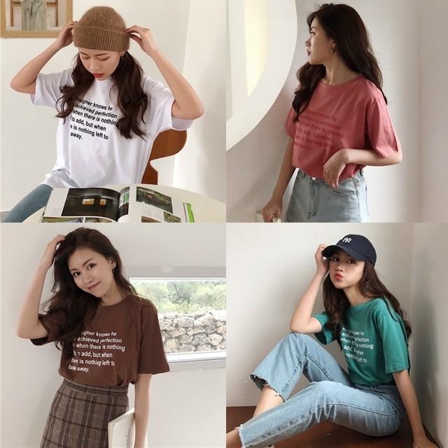 ロゴポイントTシャツ 3053