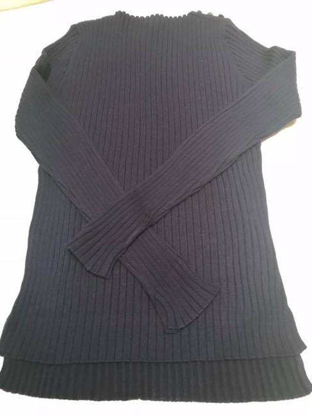 【定番人気セーター入荷しました♪】コットンカシミヤセーター   ALDRIDGE ✕blendo アルドリッジ×ブレンドオ コラボ   ネイビー