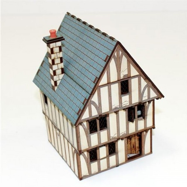 【予約発注】 Timber Framed Shop/Dwelling 28S-ECW-104