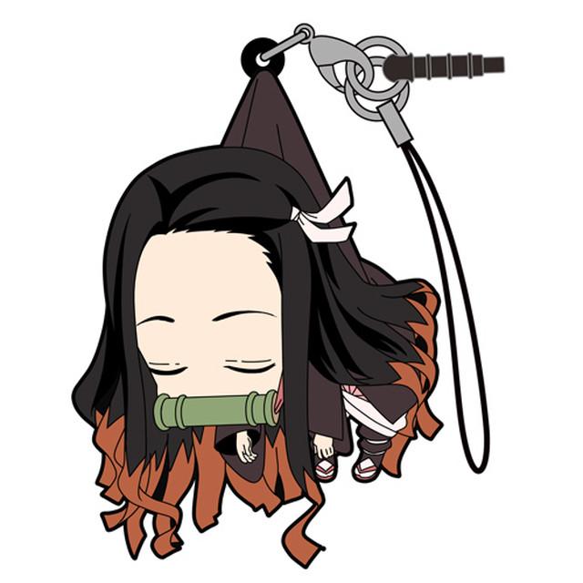 禰豆子 つままれストラップ 眠りVer.  [鬼滅の刃]  / COSPA