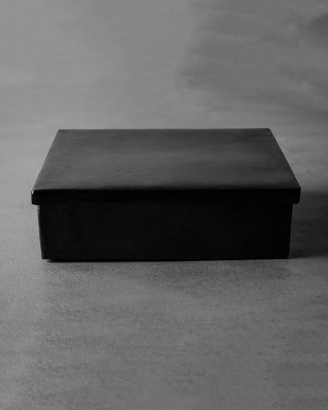 black iron box - rectangular large