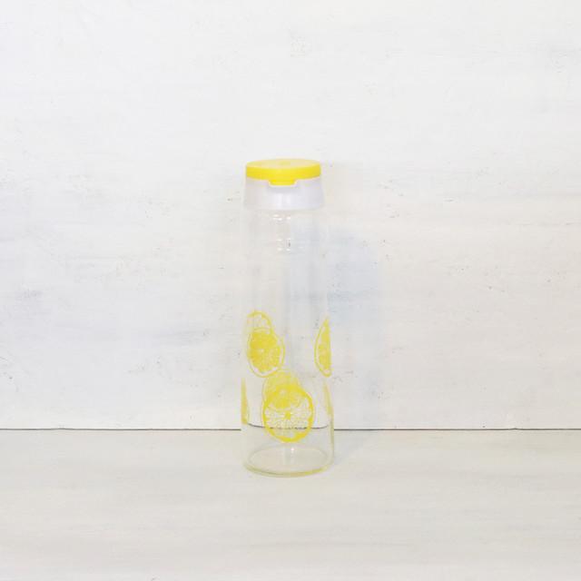 【R-437】象印 レモン柄フリーザーポット
