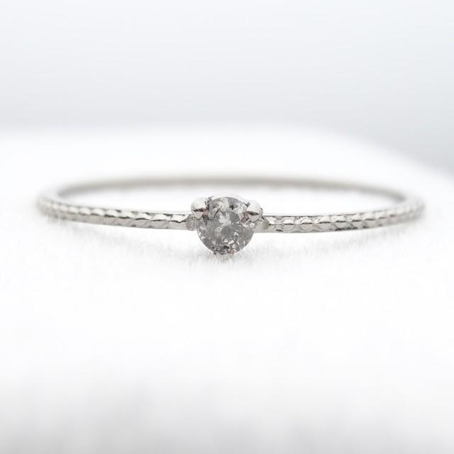 【超特価/数量限定】    Pt900ダイヤモンドリング