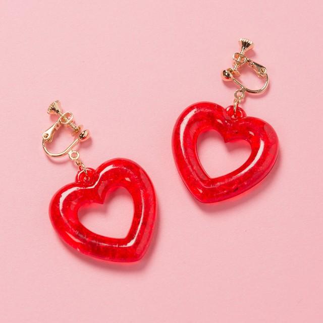 LOVE GRITTER EAR RING(VN1706020)