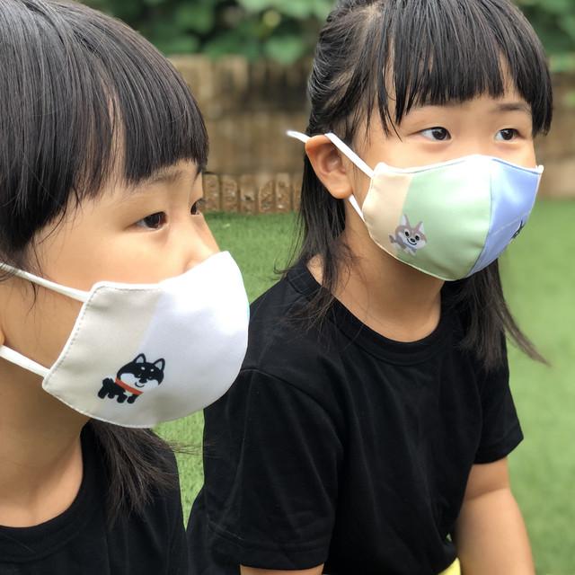<BOOSUKA>わんわんマスク Shiba