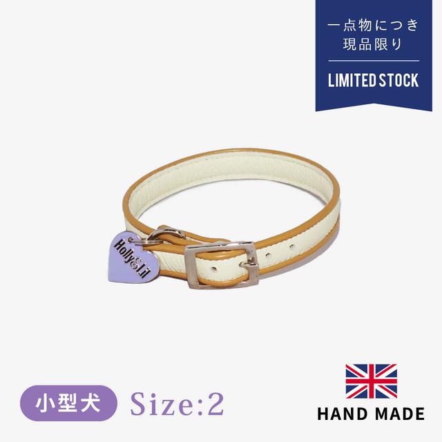 ホリー&リル ハリスツイード ピンクフェザーズ カラー(首輪) size2