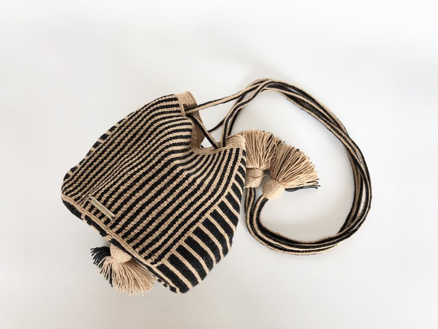 ワユーバッグ(Wayuu bag) Exclusive line Kinchaku Sサイズ