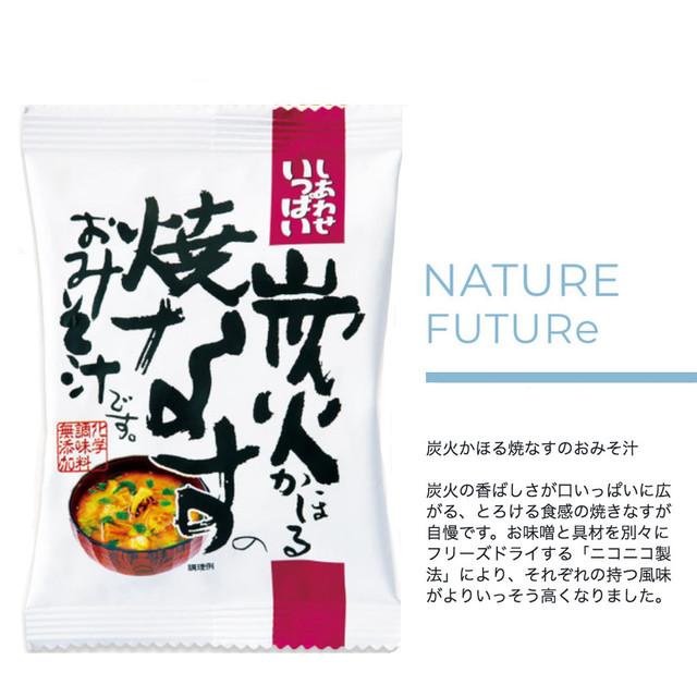 NATURE FUTURe 炭火かほる焼なすのおみそ汁 10食