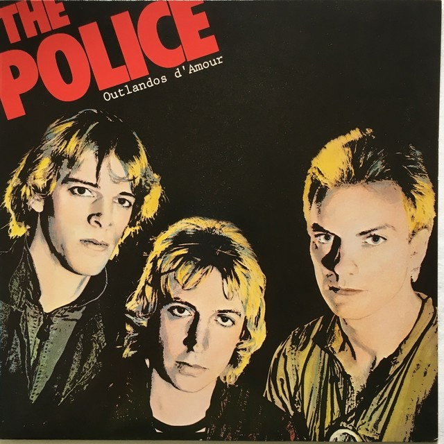 【LP・独盤】The Police ‎ /  Outlandos D'Amour