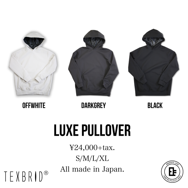 LUXE PULLOVER