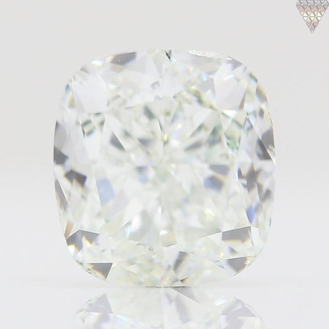 0.84 ct H SI1 CUSHION GIA 天然  ダイヤモンド ルース