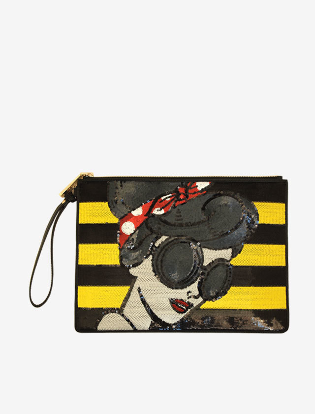 "Alice+Olivia Stacey"" Clutch bag"