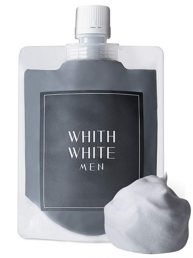 WHITH WHTE MEN 泥洗顔