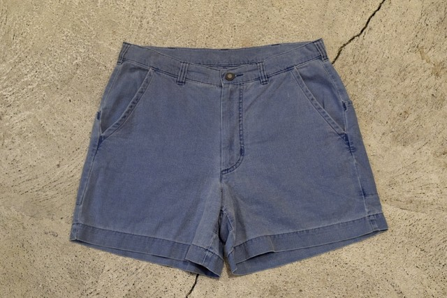 USED 90s patagonia L/W Stand-Up Shorts -W32 0974