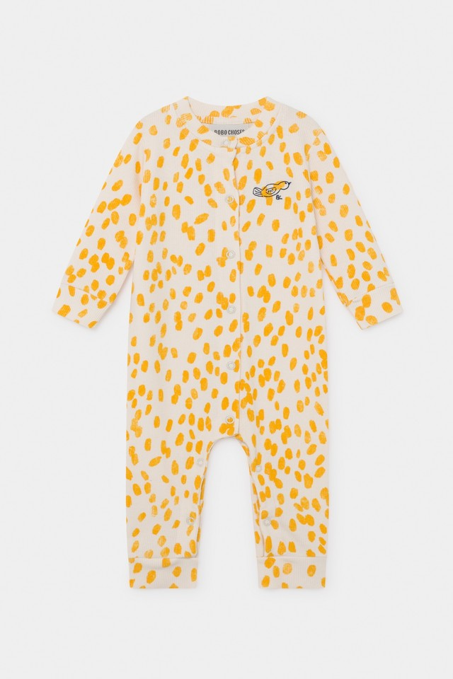 《BOBO CHOSES 2020SS》Animal Print jersey Overall / 3-6M(68cm)