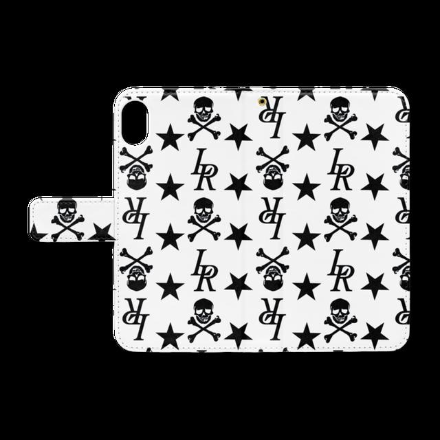 LOVERSROCK monogram/スーパーラヴァーズ手帳型アイホンケースXR