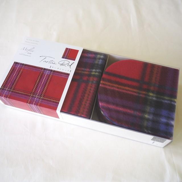 【Moflee Box Kit】 タータンレッド Tartan Red ◆Lサイズ