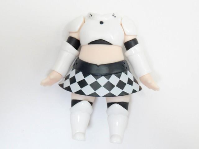 【406a】 ミス・モノクローム  体パーツ 私服 ねんどろいど