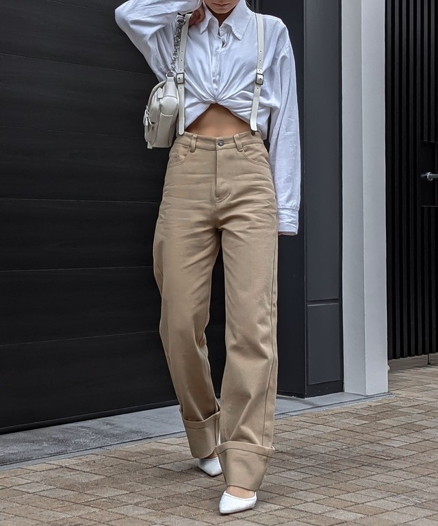 Useful suspender pants