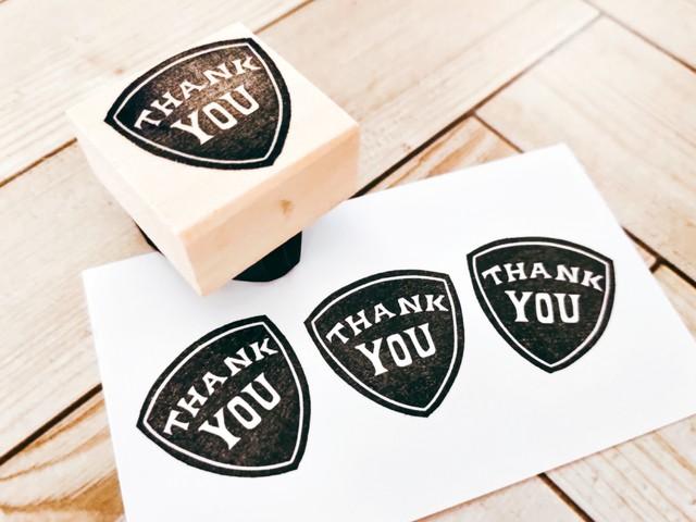 ピック風「THANK YOU」