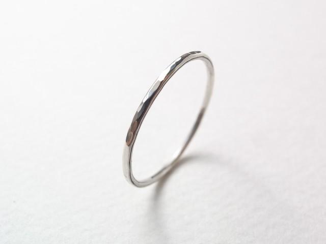 silver950/tsuchime ring