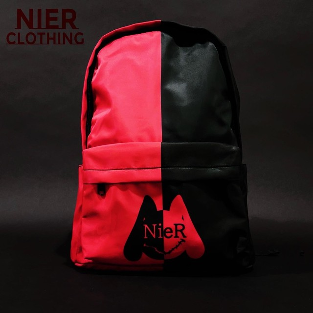 NieR TWO-TONE 大容量BACKPACK【RED×BLACK】