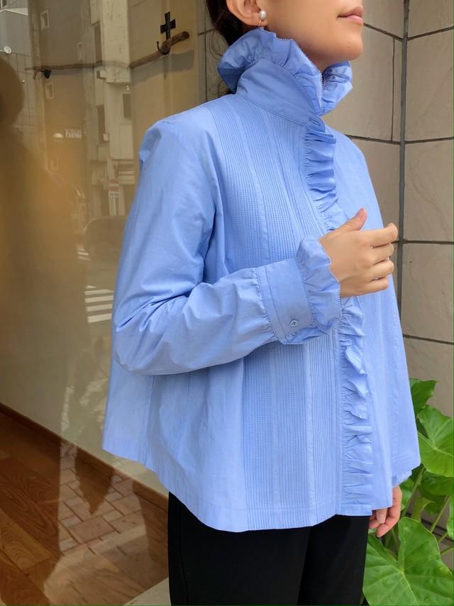 scye / ペルーコットン ポプリンピンタックシャツ