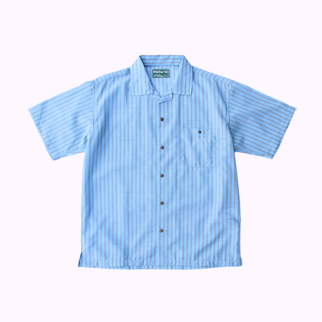 BROWN by 2-tacs / OPEN COLLAR SHIRTS