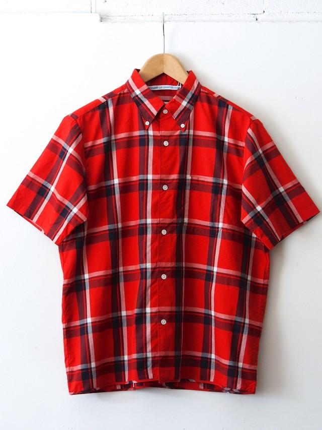 N.O.UN B.D Shirt Red-CHK
