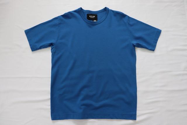 WISLOM  【ウィズロム】Tシャツ ブルー