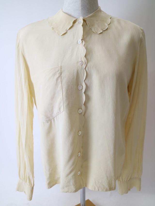 design collar blouse【1059】