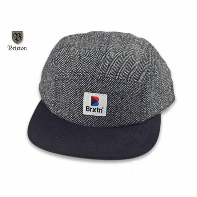 STOWELL 5 PANEL CAP | ヘリンボーン 5パネル ジェットキャップ 【BRIXTON ブリクストン】