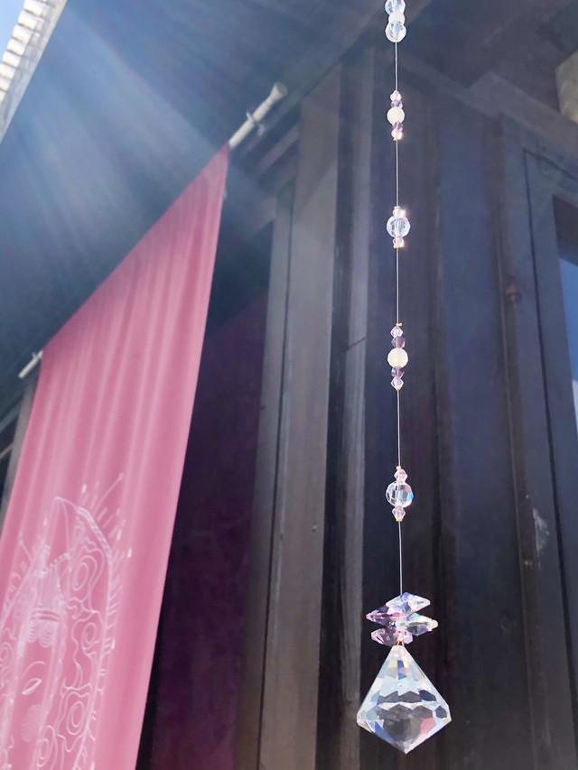 【ピンク祭り】サンキャッチャー『アンジェリカ』