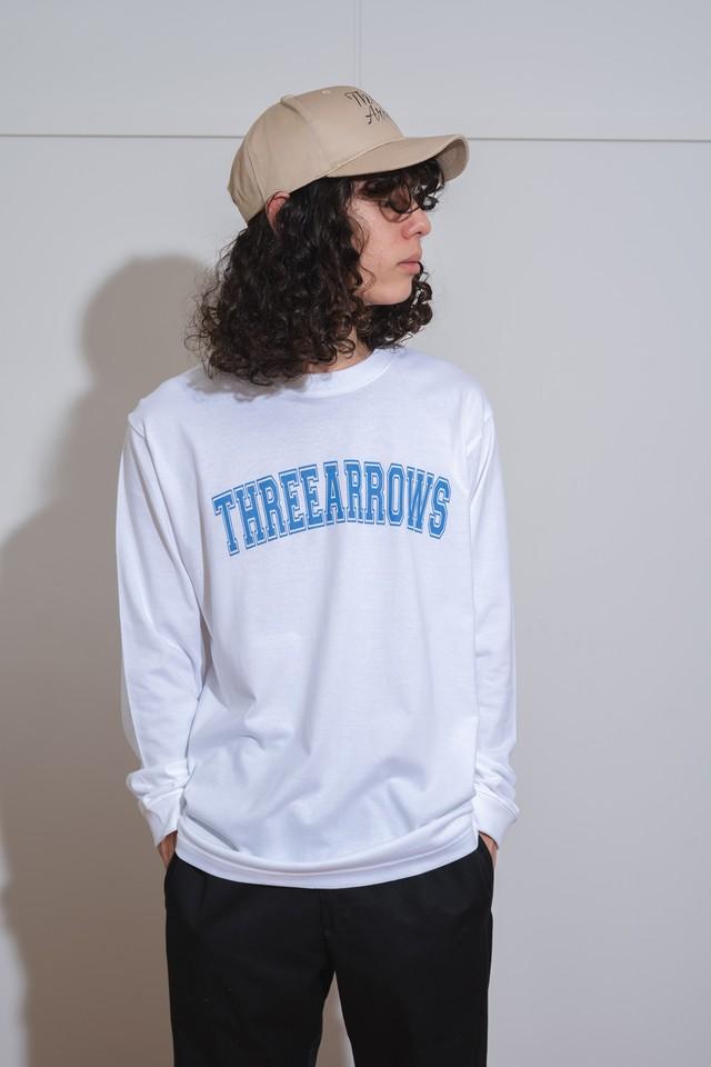 ThreeArrows MULCH LOGO L/S TEE (black)