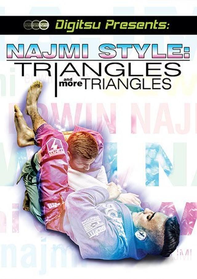 トライアングルス&モアトライアングルス エドウィン・ナジミ ブラジリアン柔術教則DVD