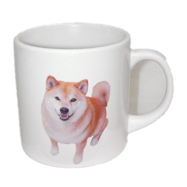 柴犬まる 陶器マグカップ Sサイズ -I LOVE MARUー