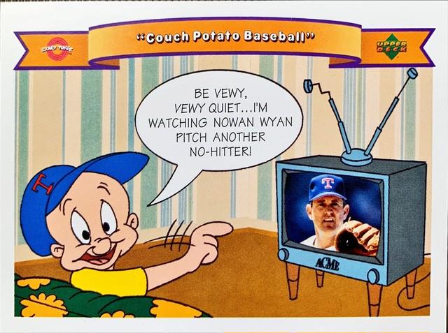MLBカード 92UPPERDECK Looney Tunes #38