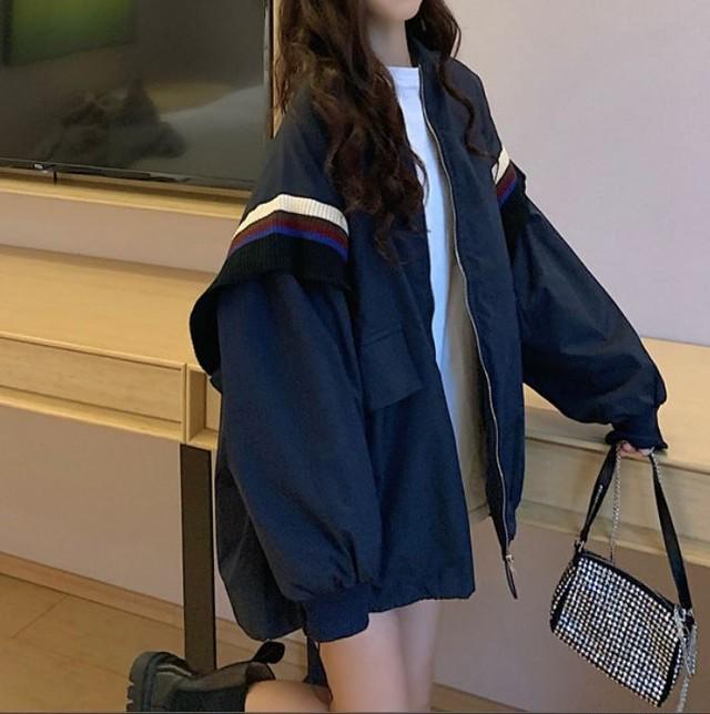 Oversize military jacket LD0188