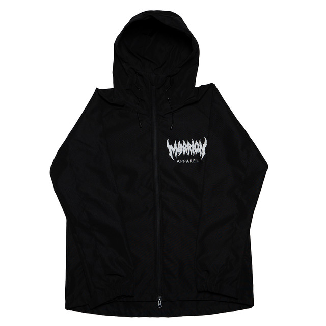 MARRION APPAREL LOGO シェルパーカー 2020 (Black)
