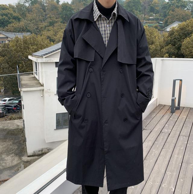 Basic design trench coat LD0536