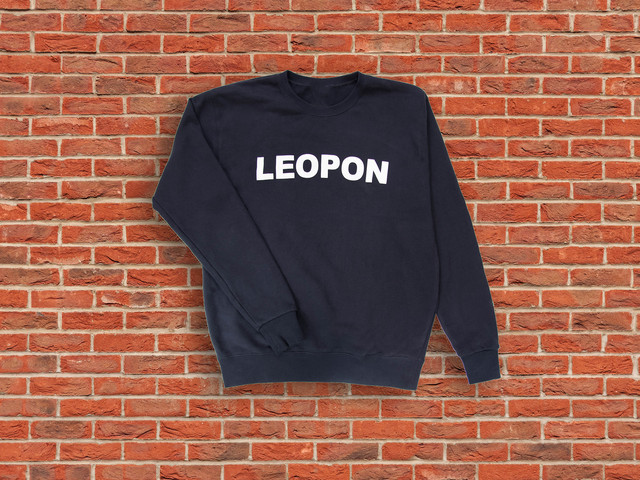 LEOPON logo sweat pink